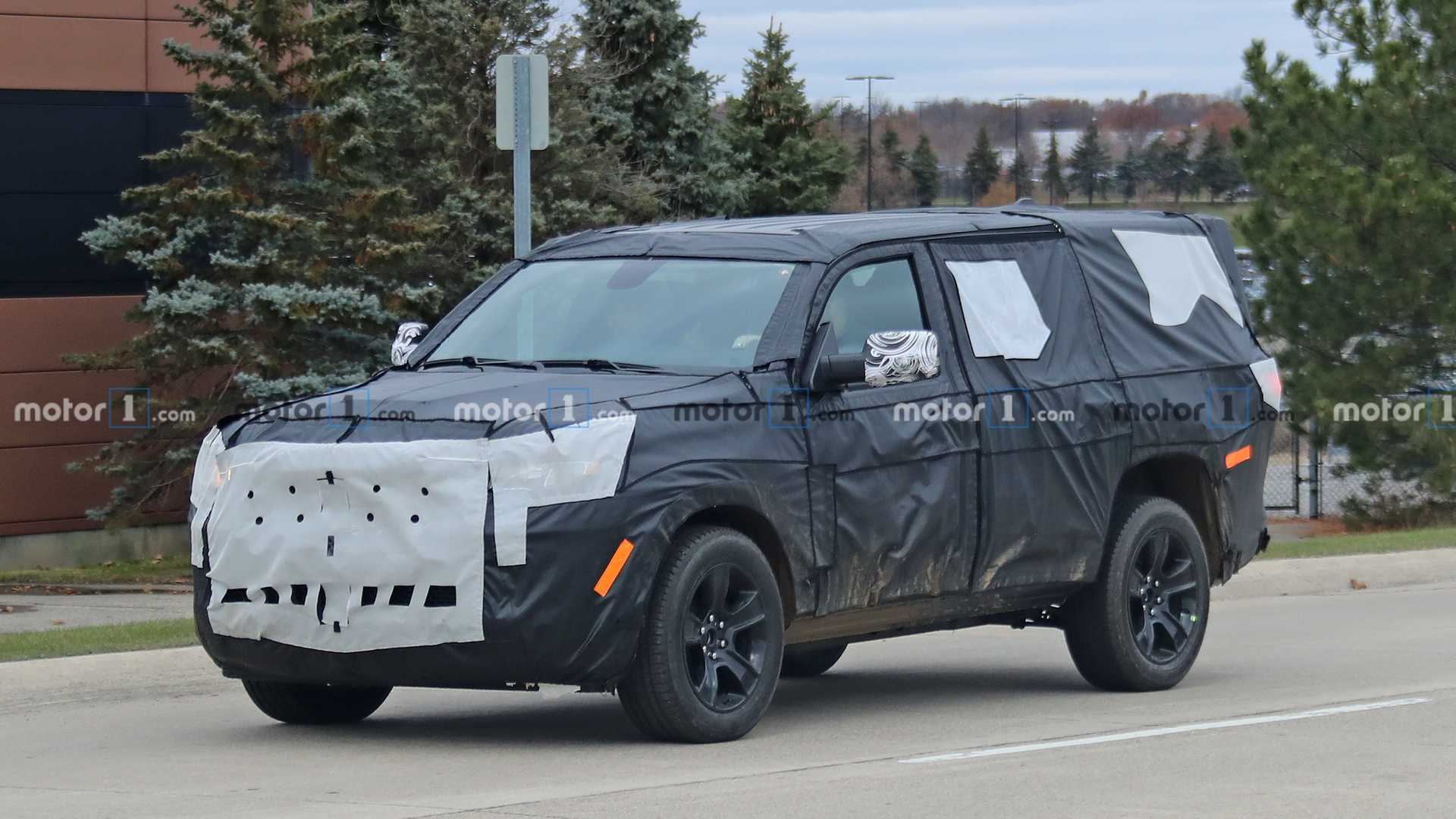 2020 Jeep Wagoneer Exterior and Interior