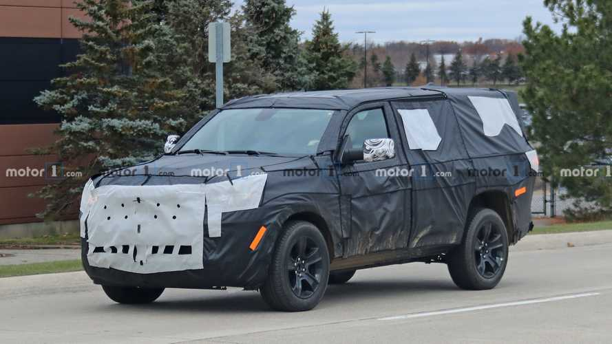 2021 Jeep Wagoneer Spied For The First Time