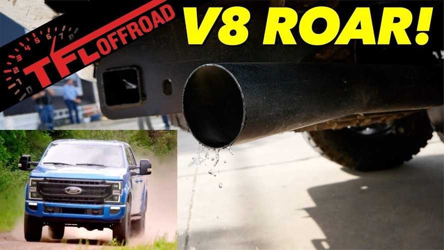 Hear The 7.3-Liter V8 Roar Of The 2020 Ford Super Duty Tremor