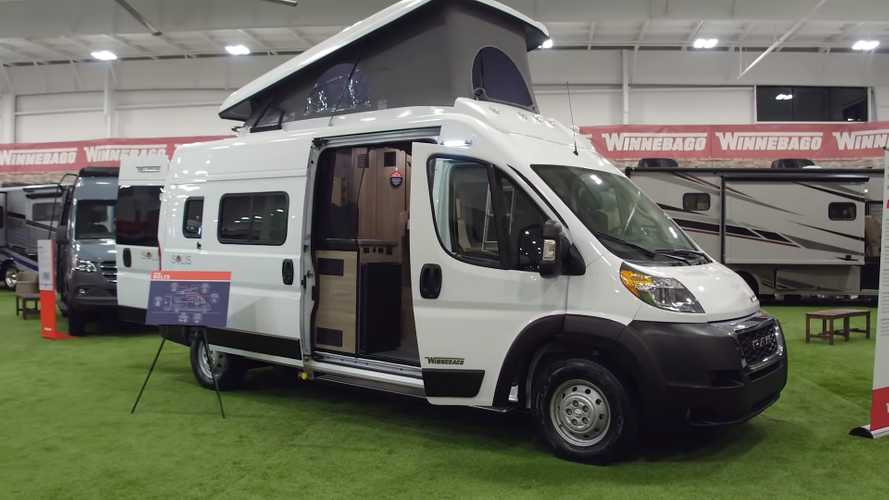 Winnebago Solis Is Brand's First Pop-Top Camper Van