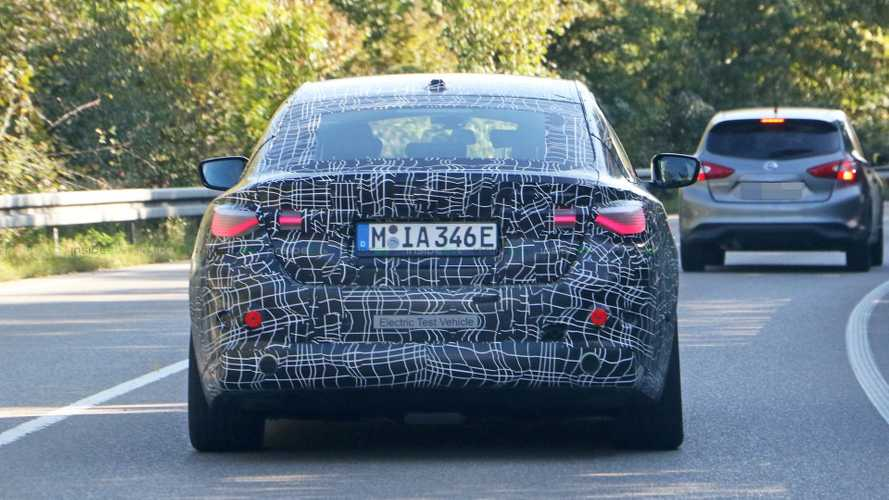 Recently Spied BMW i4 Prototype Looks More Production Ready