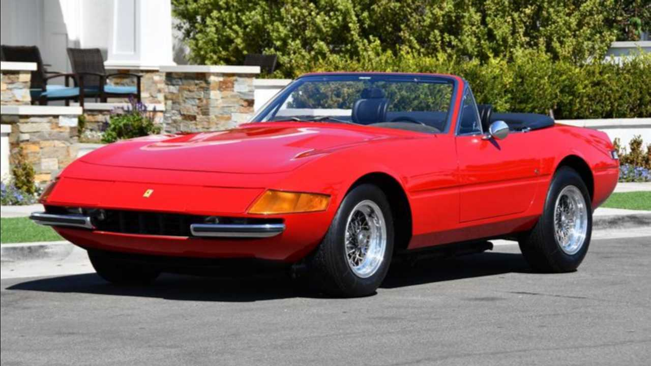 It's Time To Get A 1971 Ferrari Daytona Spyder Conversion