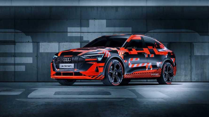 Audi e-tron Sportback, i teaser