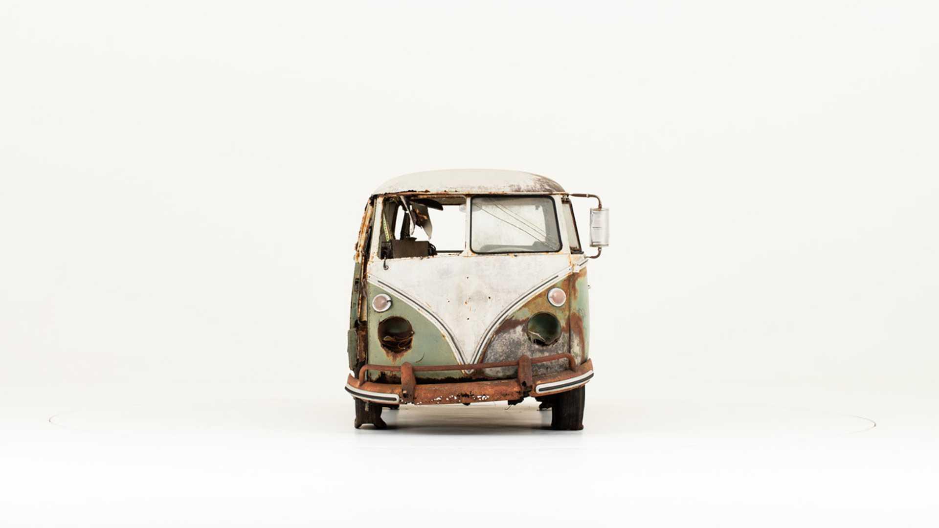 """[""""Volkswagen Helps Preserve Civil Rights VW 'Jenkins Bus'""""]"""