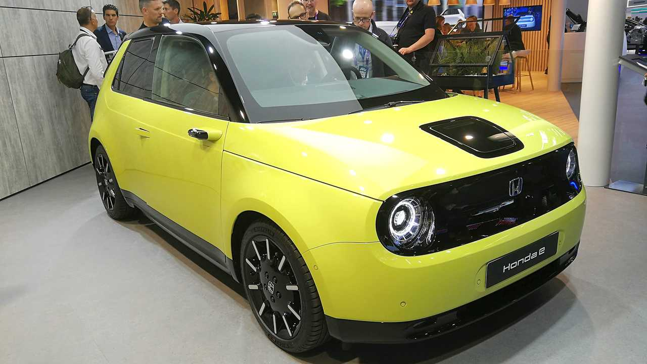 IAA 2019 - Elektroautos: Honda e