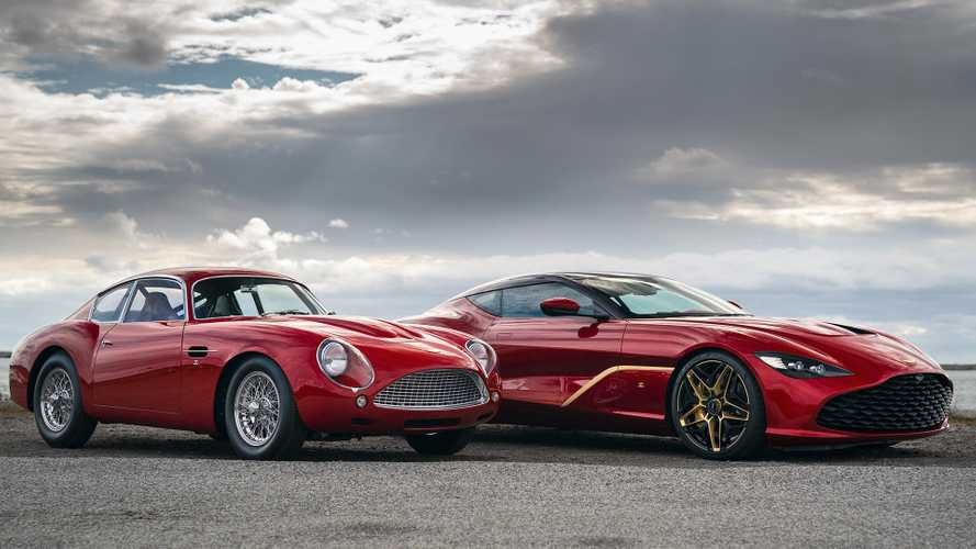 Aston MartinDBS GT Zagato Makes Real-World Debut In Stunning Style