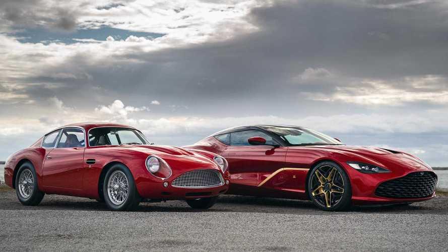 Les Aston MartinDBS GT Zagato et DB4 GT Continuation crèvent l'écran