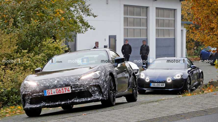 Subaru BRZ Special Edition / facelift spy photos