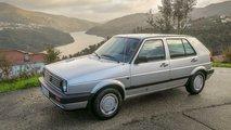 Zeitreise: Unterwegs im VW Golf II von 1990