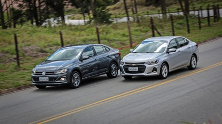 comparativo novo chevrolet onix plus versus vw virtus