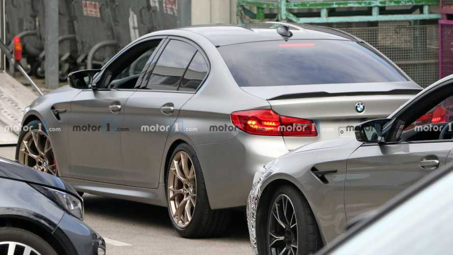 BMW M5 CS plays hide-and-seek in new spy photos