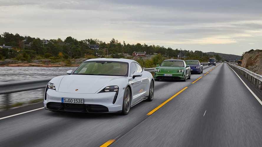 Porsche Taycan: Rückruf für 43.000 Autos wegen Softwareproblemen