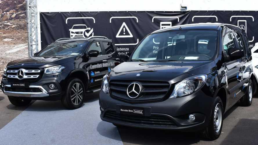 Furgoni usati, Mercedes li certifica