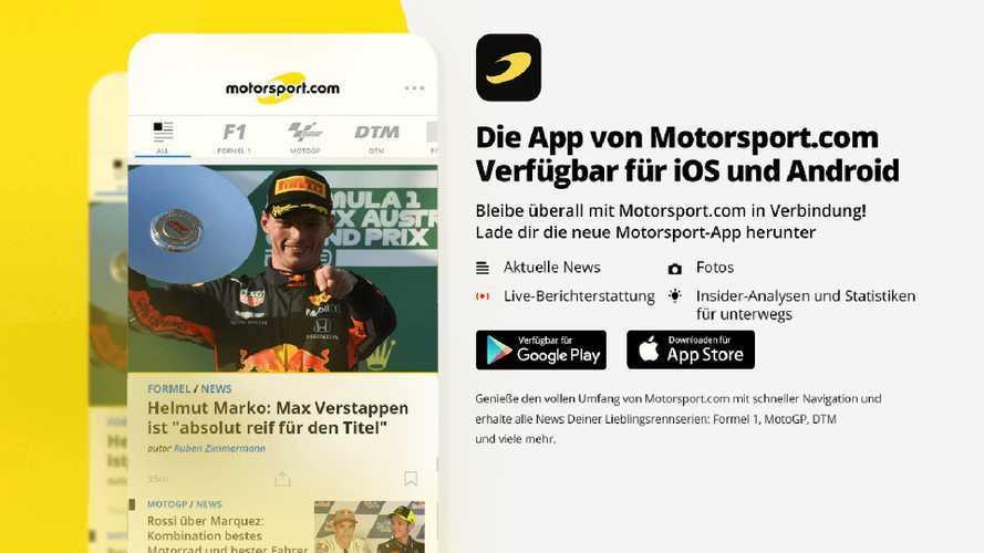 Motorsport-News direkt aufs Handy: Die neue App von Motorsport.com