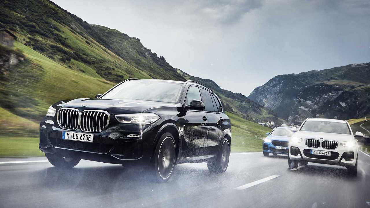 BMW X3 xDrive30e 2020 - pista