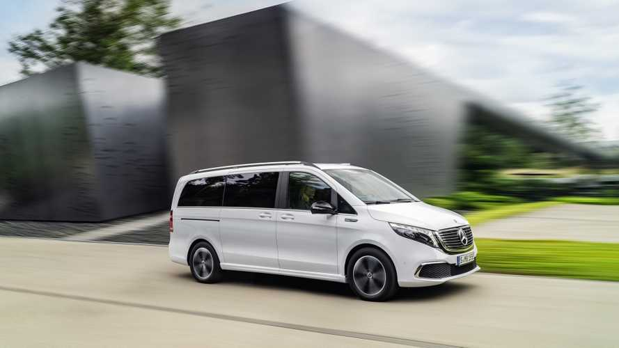 Mercedes-Benz EQV electric MPV costs more than £70,000
