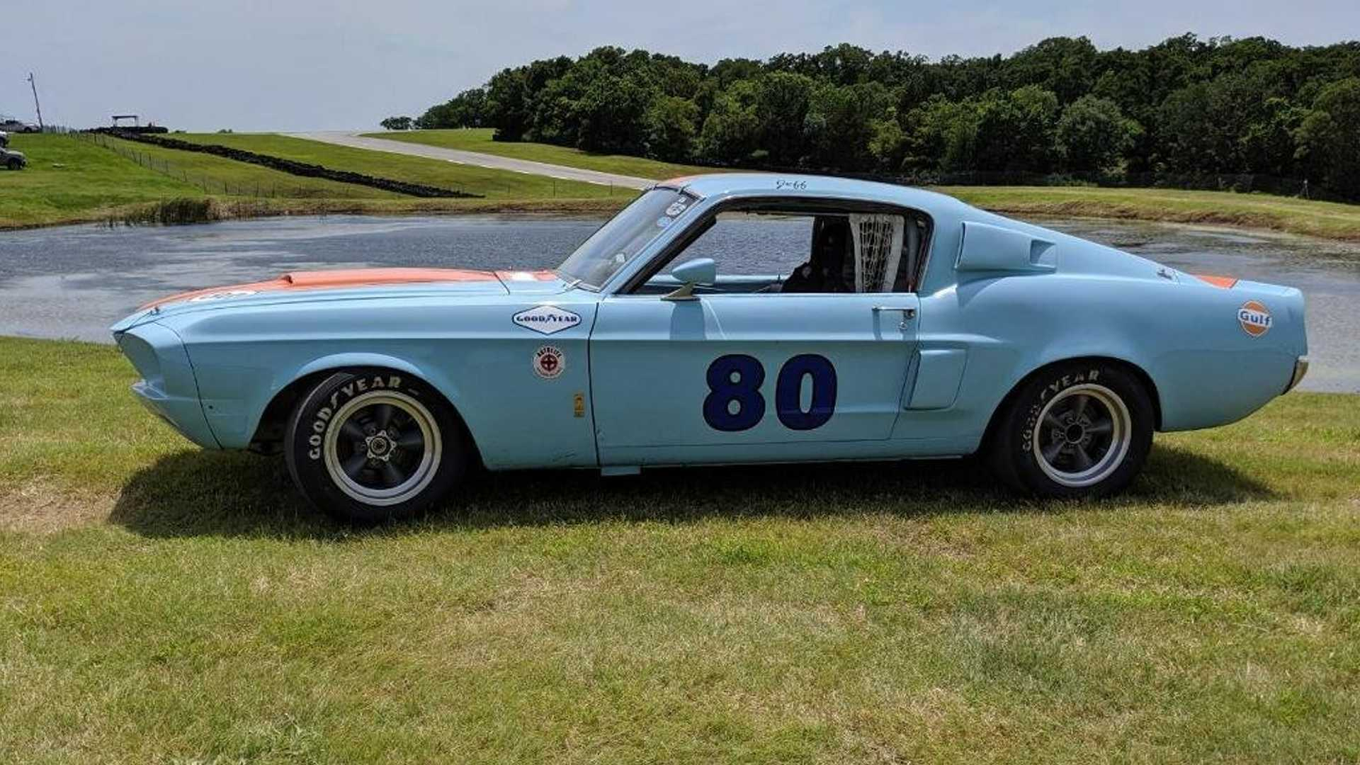 Rare 1967 Shelby GT500 Road Race Car Is Being Revived