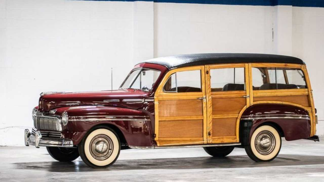 Stop The Show With A 1947 Mercury Woody Wagon