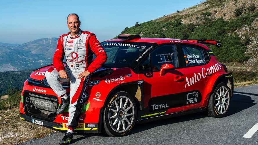 Chus Puras y el Citroën C3 R5, el regreso más esperado