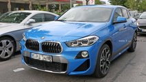 BMW X2 PHEV Spy Shots