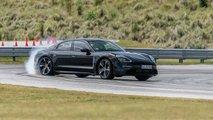 2020 Porsche Taycan Prototype Ride