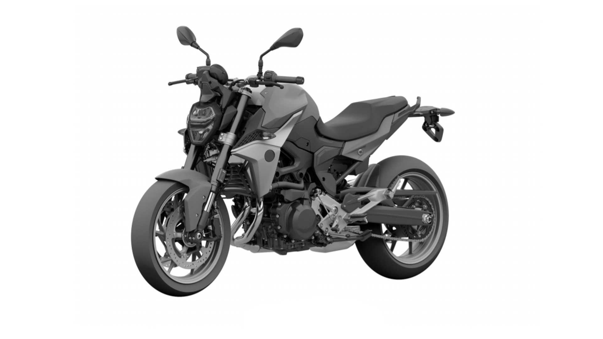 New BMW F 850 R Leaked In Brazilian Patent