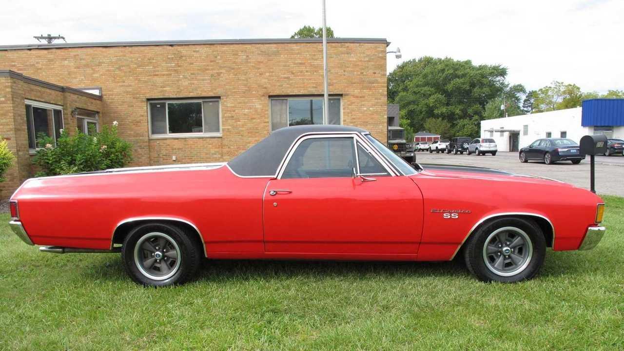 Last Year Of The Big Block: 1972 Chevrolet El Camino SS 396