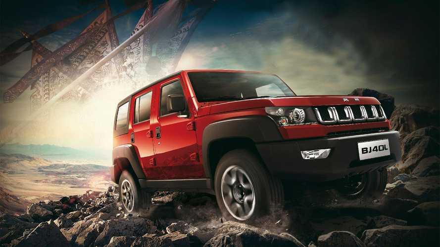 BAIC BJ40: el 'Jeep Wrangler' chino cuesta 34.000 euros