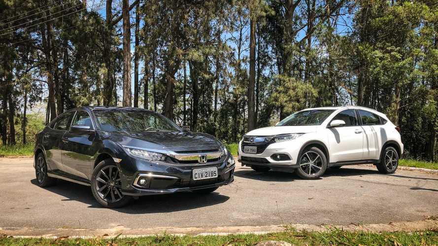 Honda Civic, Accord e HR-V têm recall por falha na bomba de combustível