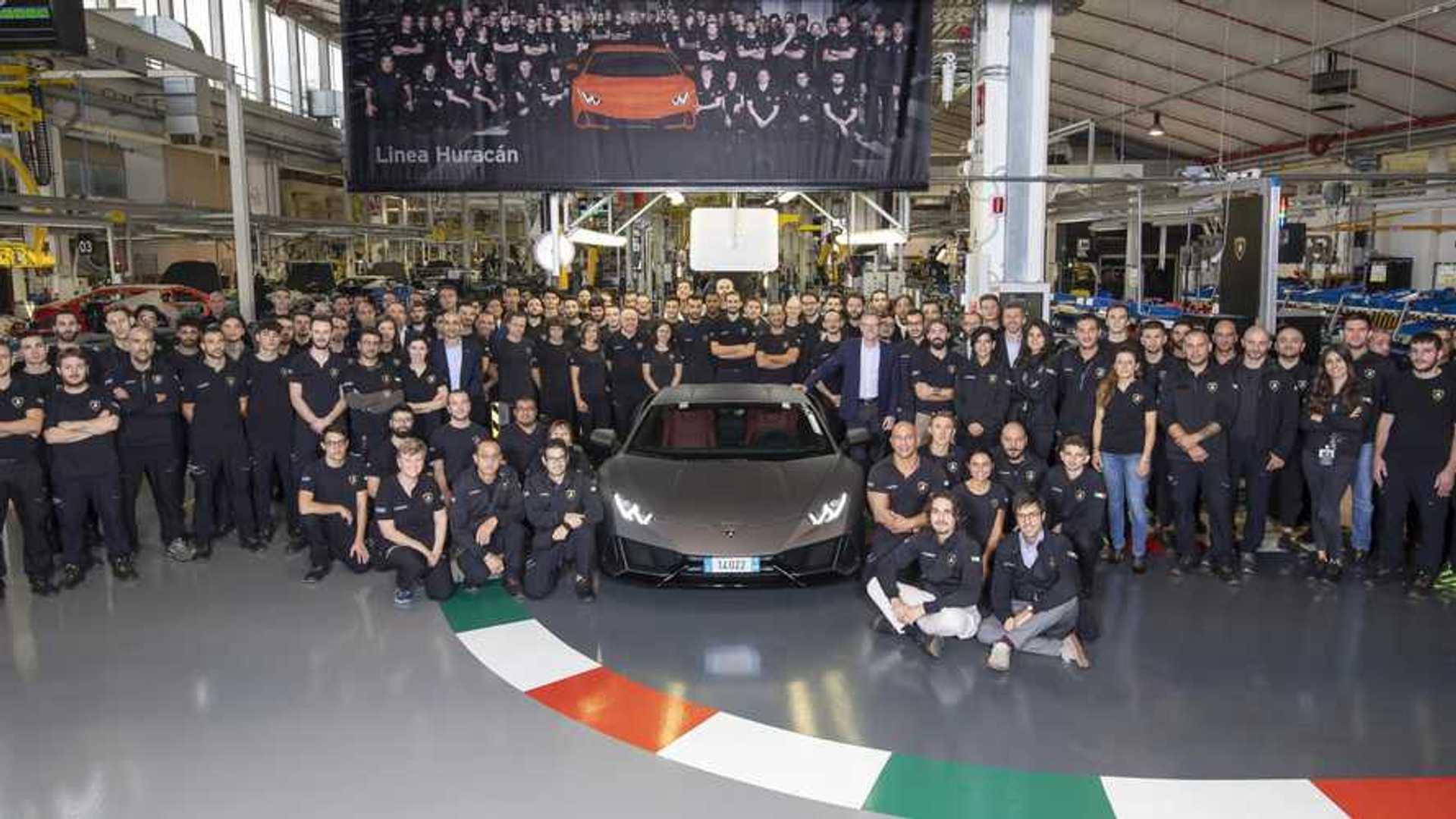 Lamborghini Huracan, in 5 anni superata la produzione della Gallardo