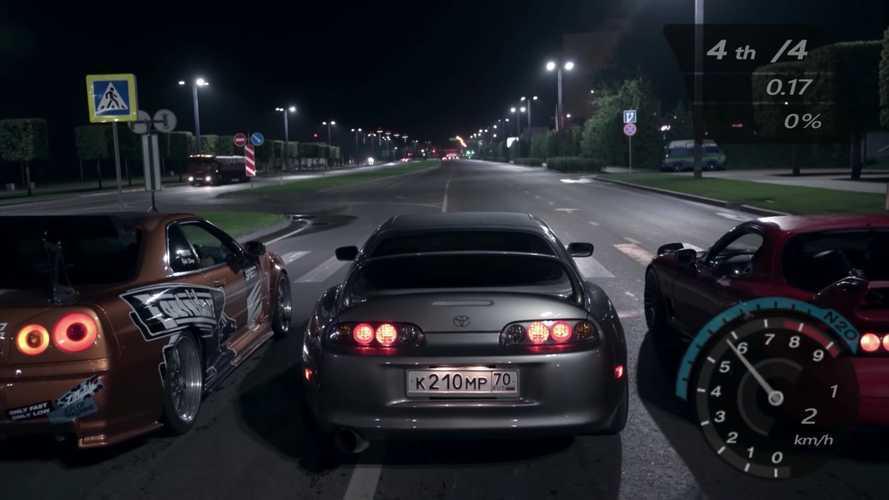 """Piszok jó """"paródiát"""" forgattak a Need For Speedhez!"""