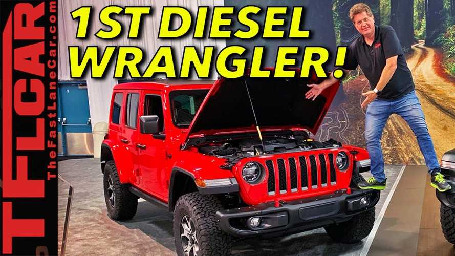 2020 Jeep Wrangler EcoDiesel Detailed In Video Walkaround