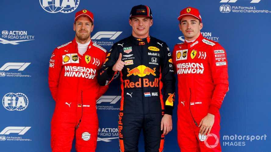 2019 Meksika GP: Verstappen, pole pozisyonunda!