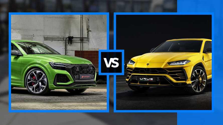 Audi RS Q8 vs Lamborghini Urus - Des points communs... et des différences