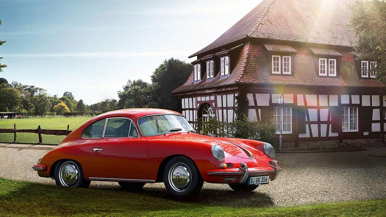 Porsche 356 Red Coupe