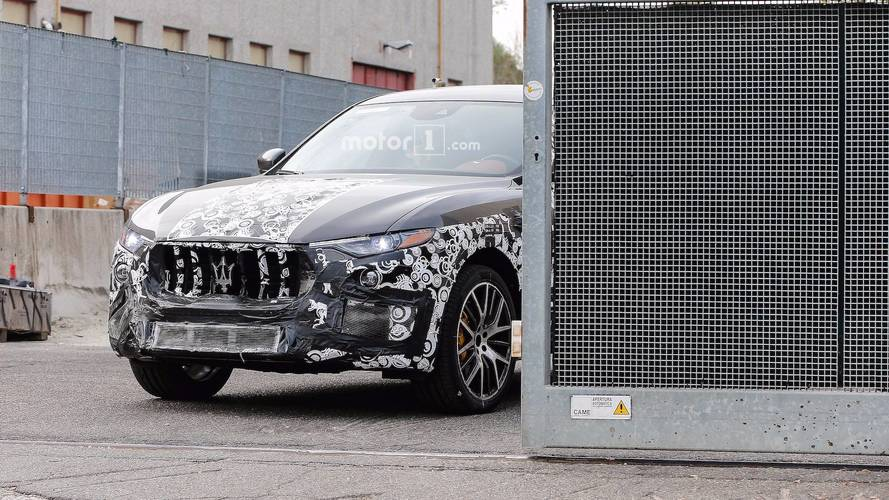 Maserati Levante GTS New Spy Photos