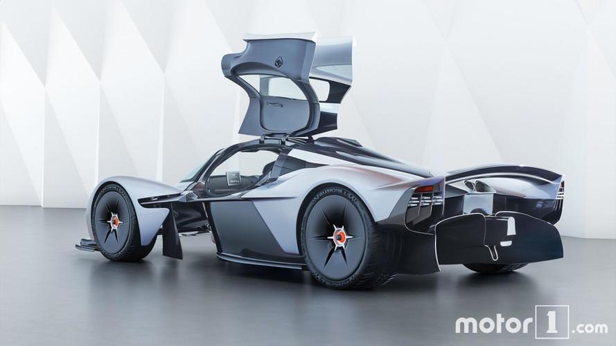 Mercedes-AMG Project One против Aston Martin Valkyrie