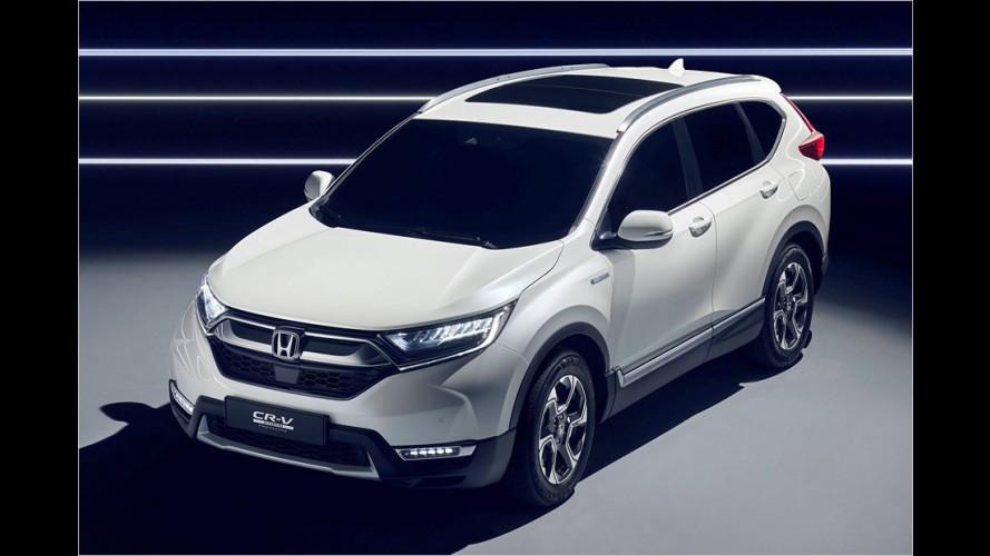 Neuer Honda CR-V: Hybrid statt Diesel