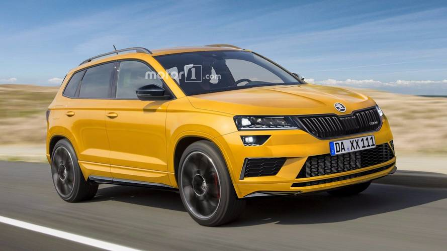 Skoda Karoq RS planned with more horsepower than Kodiaq RS?