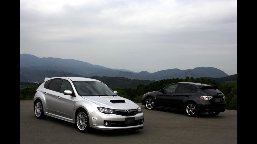 La Subaru Impreza STI senza veli