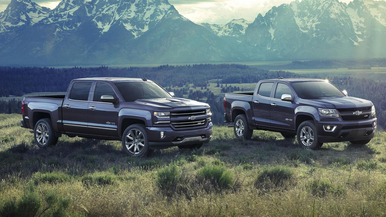 2018 Chevrolet Colorado and Silverado Centennial Editions