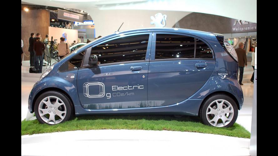 Peugeot iOn a 500 euro al mese