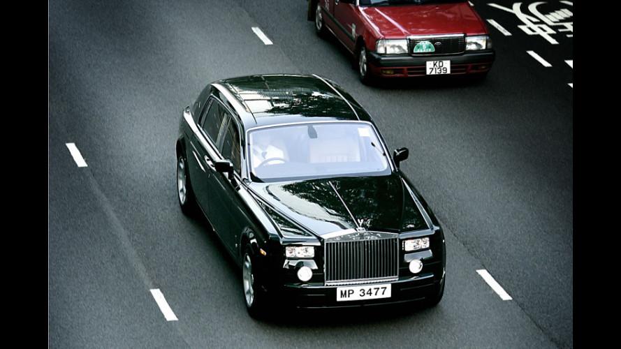 Ordine record per la Rolls Royce Phantom