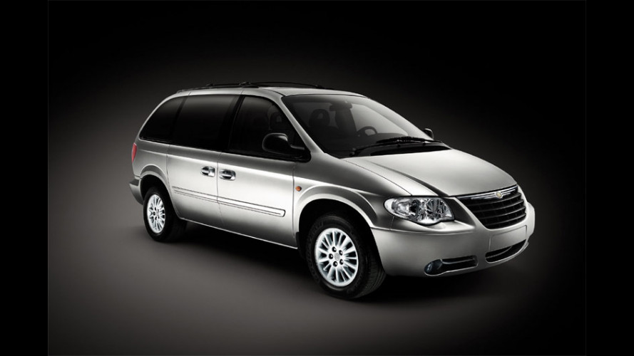 Chrysler Grand Voyager Black Motion