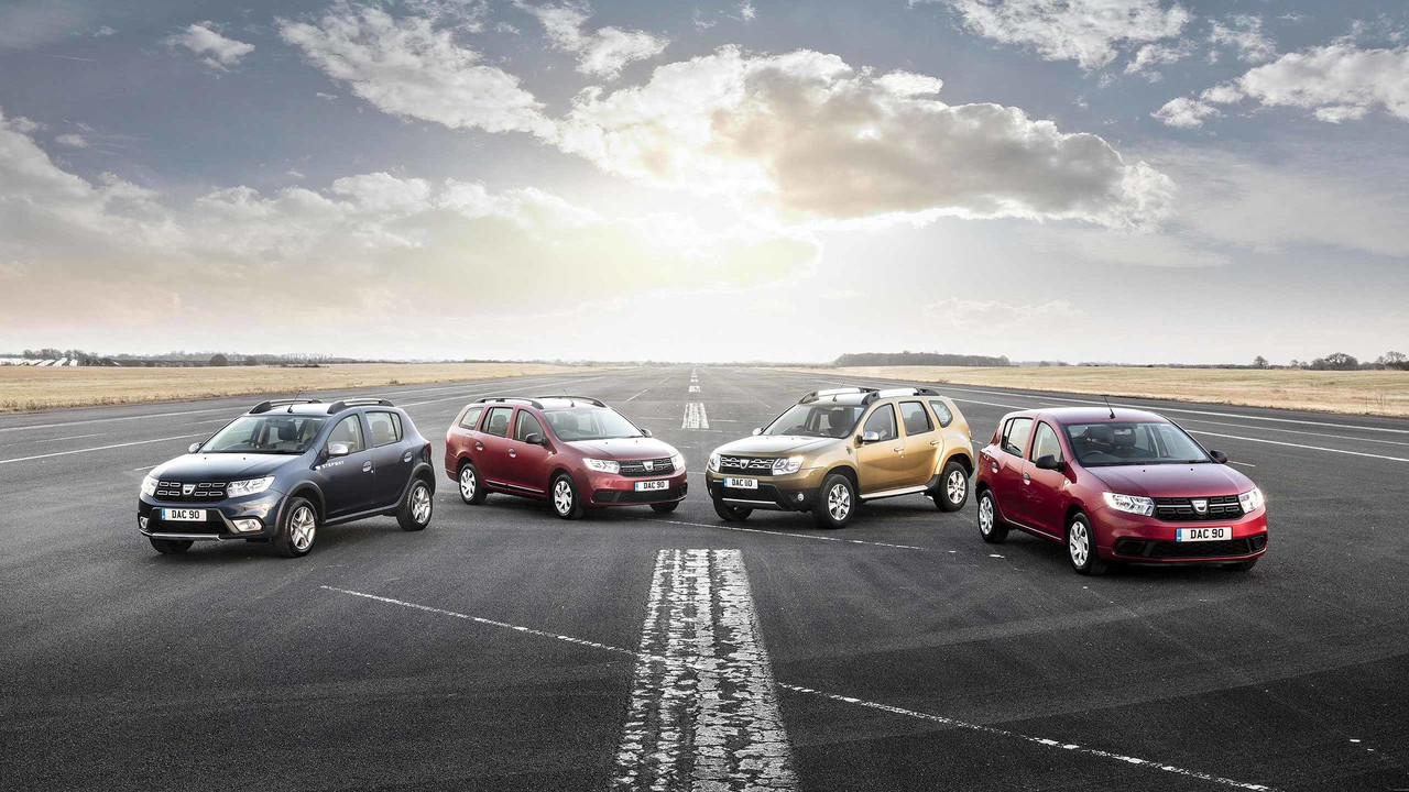 Dacia 2017 range
