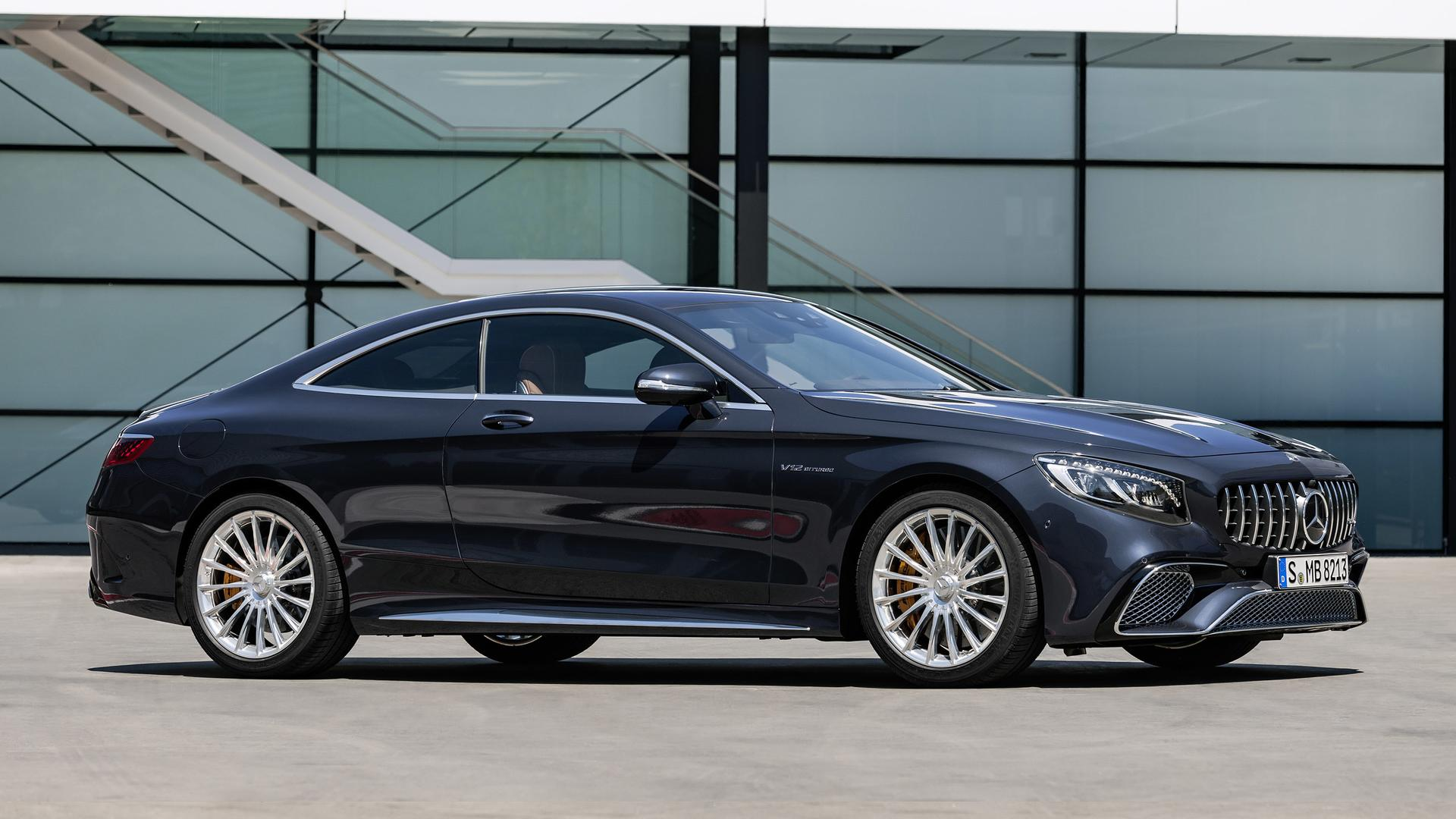 Mercedes Benz S Class Coupe Reveals Its Frankfurt Facelift
