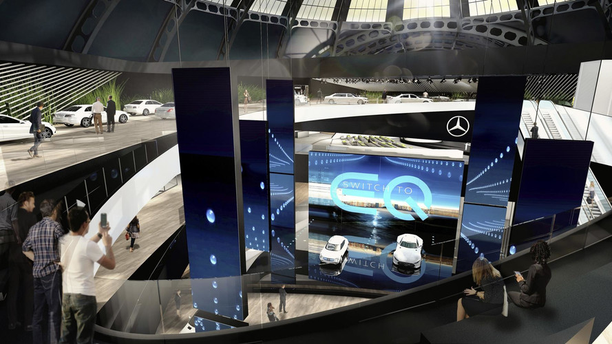 Mercedes-AMG Project One concept from Frankfurt Motor Show stand