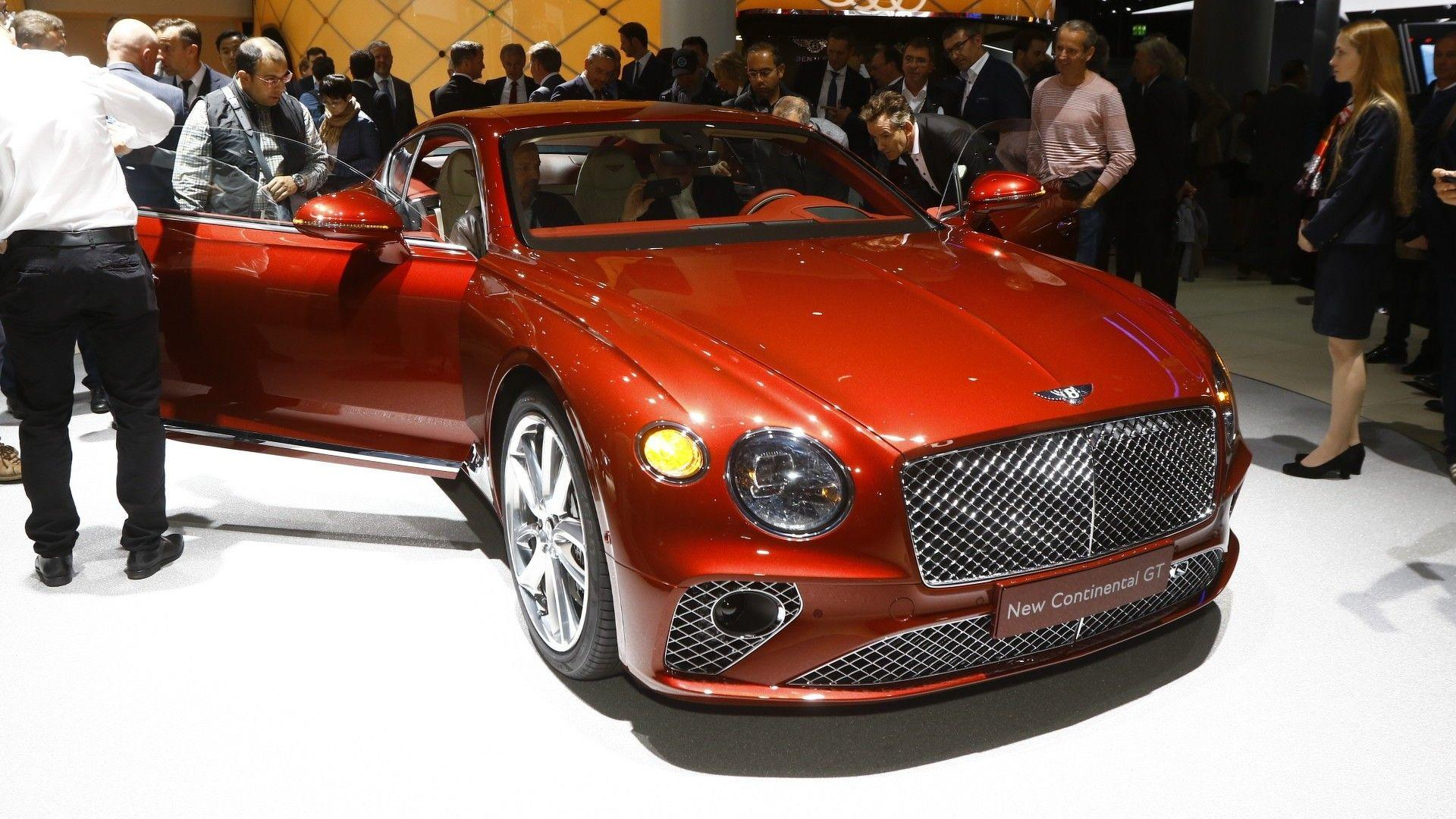 Bentley S Luxurious New 2018 Continental Gt Unveiled