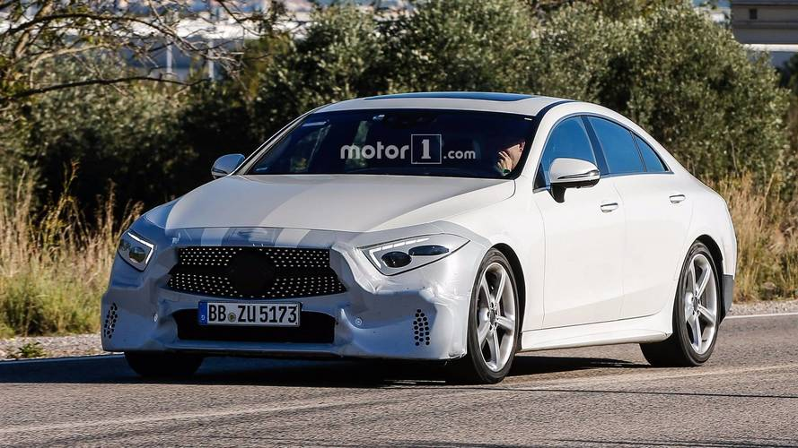 Photos espion - La Mercedes-Benz CLS en approche
