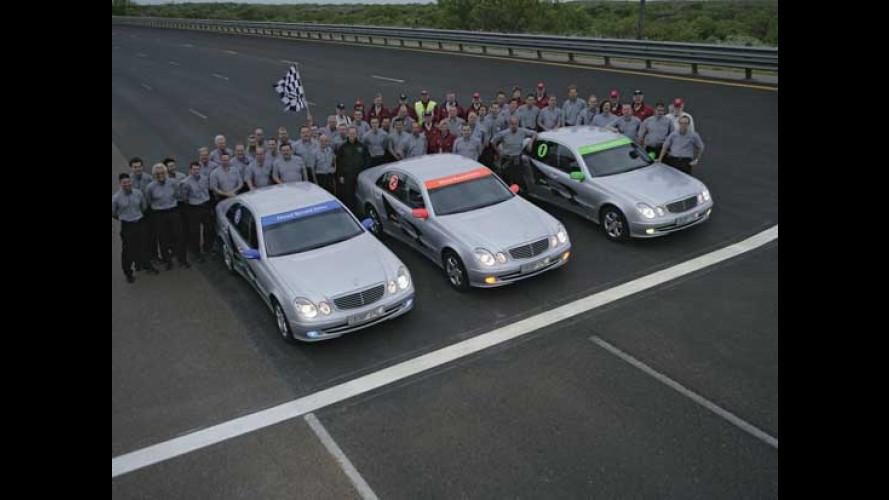 Record Mondiale per la Mercedes E 320 CDI